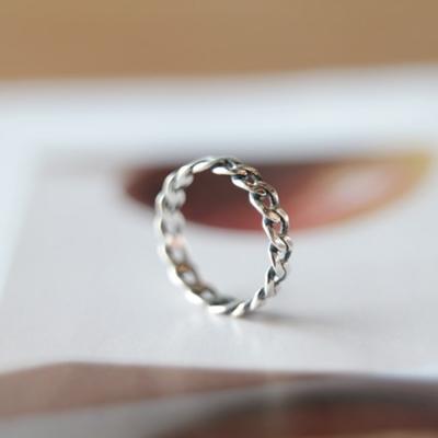 텐바이텐 체인Ring silver925 - 네이버쇼핑