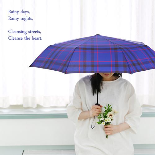 classic check 선염 3단 안전 완자동 우산 - 네이버쇼핑