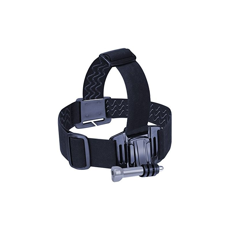 USA Gear Head Action Camera Mount Strap Harness Adjustable Headband with Elastic Stretch Straps In - 네이버쇼핑