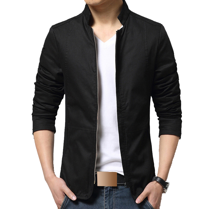 new fashion trend jacket men slim fit long sleeve designer spring casual clothes mens jackets a - 네이버쇼핑