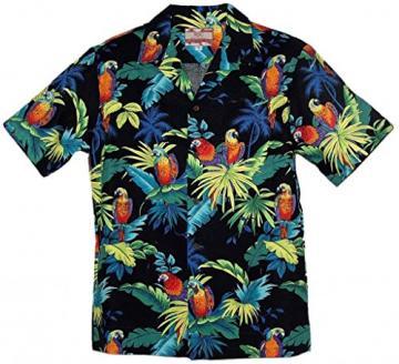 RJC Brand Tropical Parrots 남성용 하와이안 셔츠 블랙 XL - 네이버쇼핑