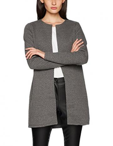 빌라 영국 vila clothes womens vinaja new long jacketnoos cardigan medium melange manufa - 네이버쇼핑