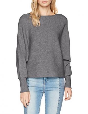 빌라 빌라 clothes womens vielasta l s knit top jumper medium melange - 네이버쇼핑