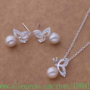 hot sterling jewelry sets earring necklace acgaitna aitajaaa AS050 - 네이버쇼핑