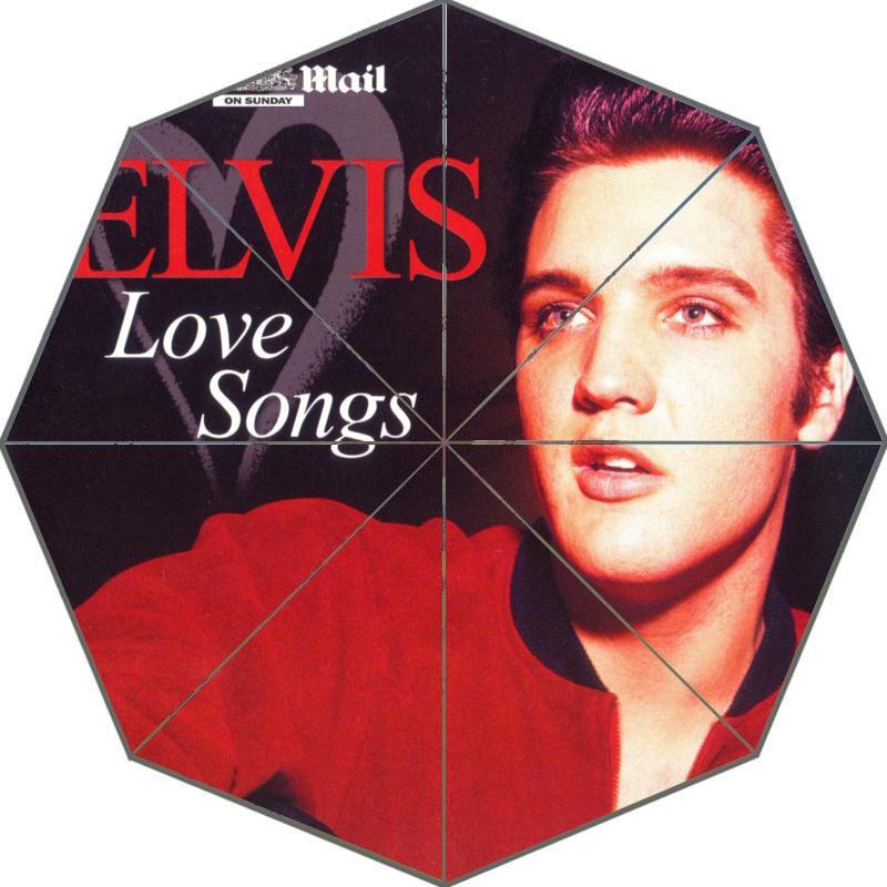 Guarda chuva personalizado com a foto do Elvis Presley