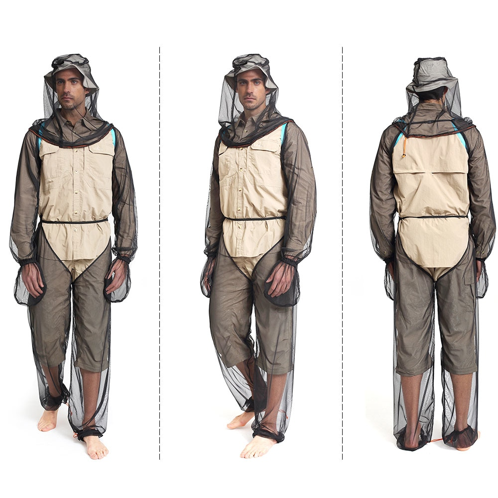 Fishing Suit Mosquito Prevent Suit Camping Clothing Set Mosquito Suit Mosquito Net Suit Head Net Sle - 네이버쇼핑