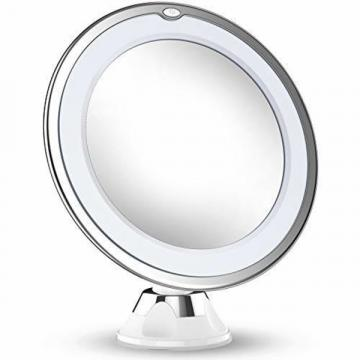 Updated 2019 Version 10X Magnifying Makeup Mirror With Lights LED Lighted Portable Hand Cos 234441 - 네이버쇼핑