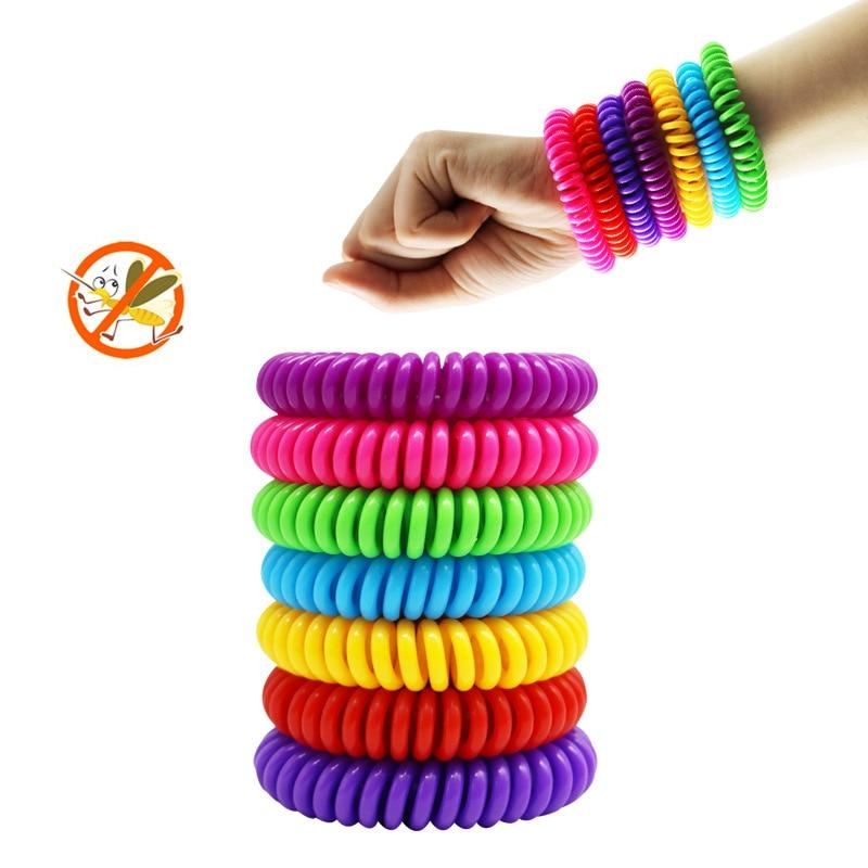 바잉 Mosquito Pure Natural Adults And children Wrist Band Mixed Colors Anti-mosquito Bracelet Pe - 네이버쇼핑