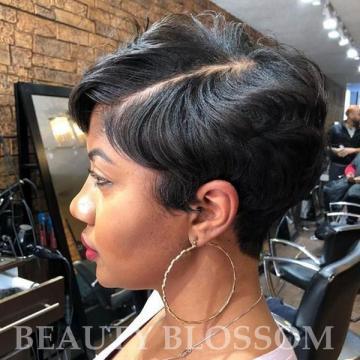 엔톤몰D Brazilian virgin real short cut hair wigs for women human hair none lace wigs cheap hair w - 네이버쇼핑