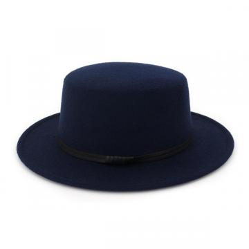 Wool Felt Fedora Panama Hat Women Lady Wool Wide Brim Casual Cap 5 colors - 네이버쇼핑