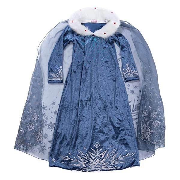 New York Elsa Dress for Girls Frozen Princess Costume Kids Cosplay Cos Age 4 YH New York Elsa Dres - 네이버쇼핑