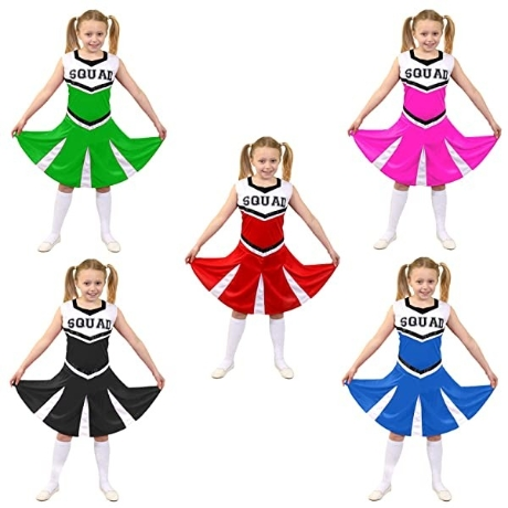 ILOVEFANCYDRESS GIRLS CHEERLEADER FANCY DRESS COSTUME WOMENS CHEER CAPTAIN AMERICAN CHEER LEADER UNI - 네이버쇼핑