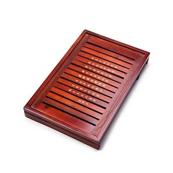 Solid Wood Reservoir Drainage Type Kung Fu GongFu Tea Table Serving Tray x L18.03 W11.34 13888044 - 네이버쇼핑