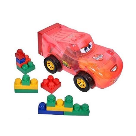 Toyland® Racing Car With Building Blocks Storage Box Set x - 네이버쇼핑