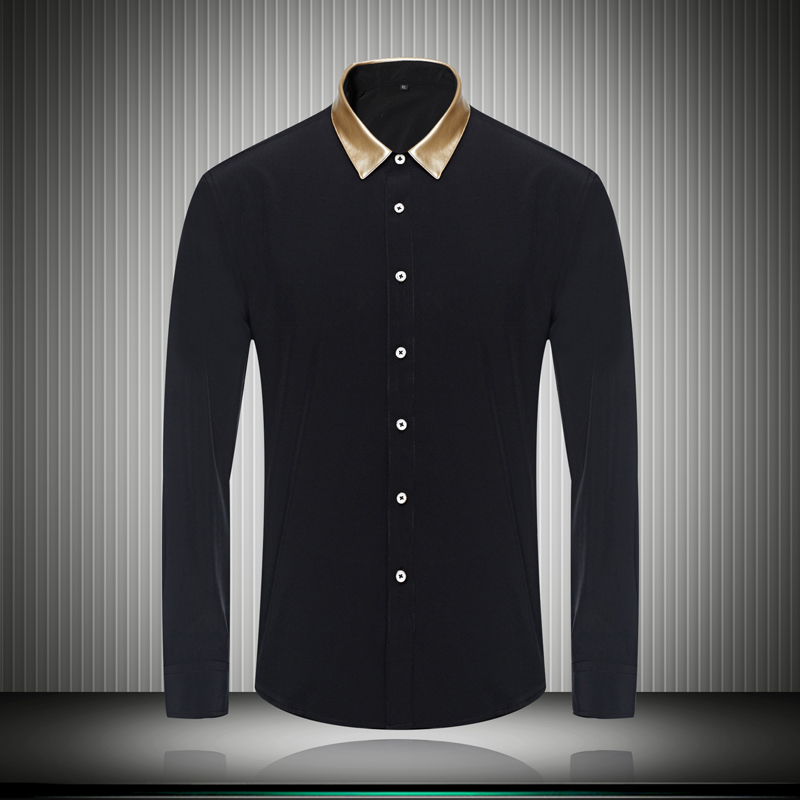 fashion mens designer clothes great quality color collar dress shirts lon - 네이버쇼핑